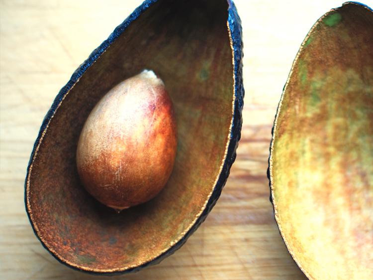 avocado peel