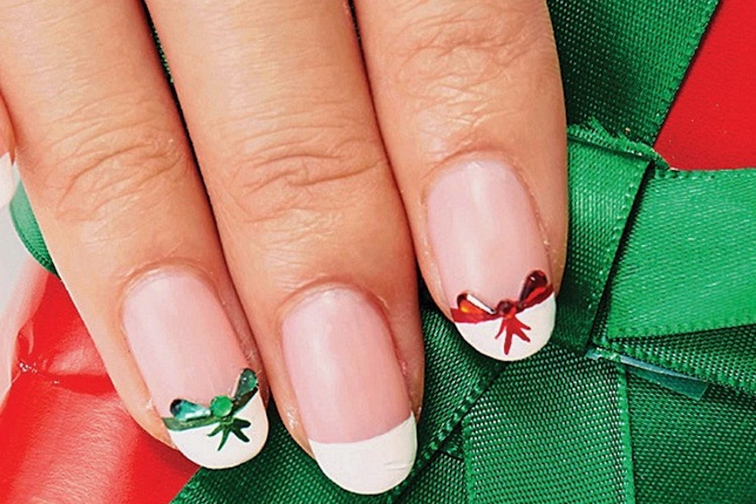 Bow Tip Nails