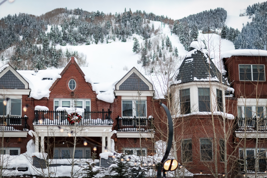 Aspen Colorado Winter downtown