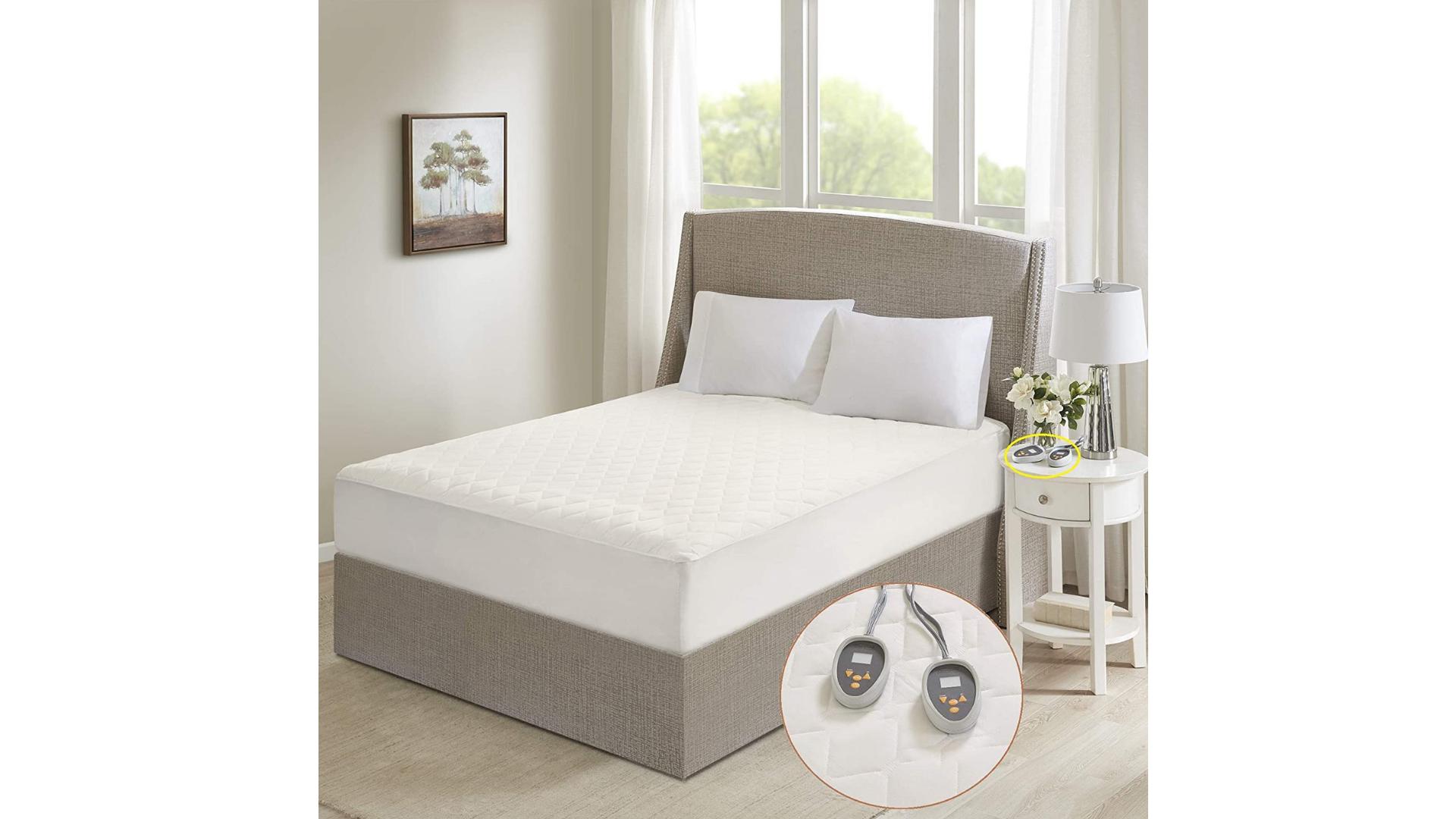 Beautyrest best heated mattress pad