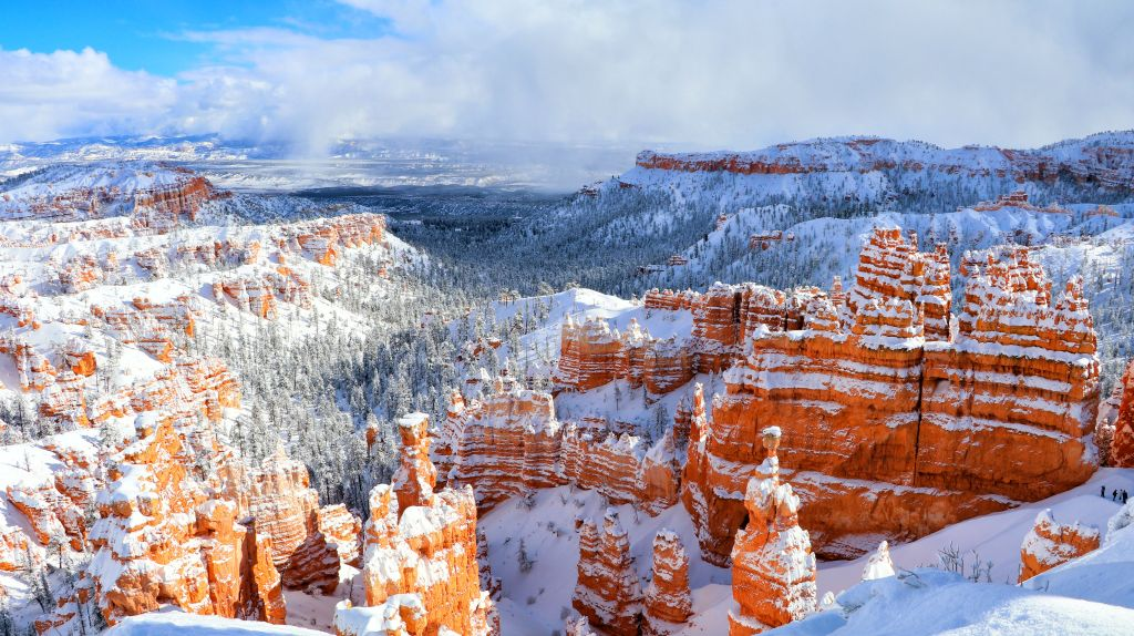 Bryce, Utah in Winter