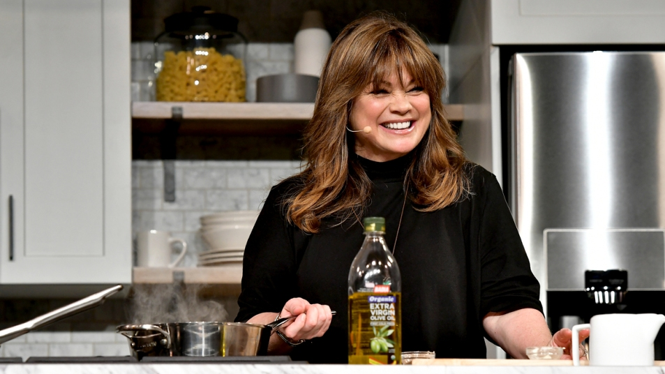 Valerie Bertinelli cooking