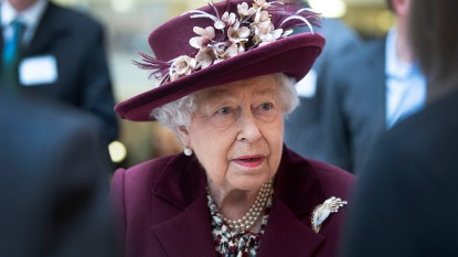 Queen Elizabeth Visits MI5