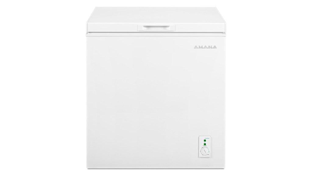 amana freezer