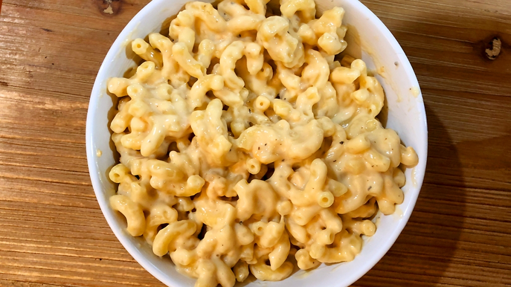 Bowl of macaroni and cheese