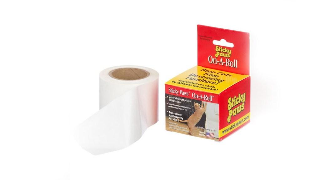 sticky paws tape