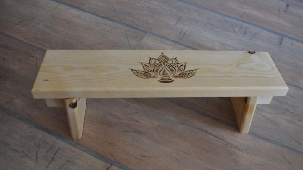 folding meditation stool