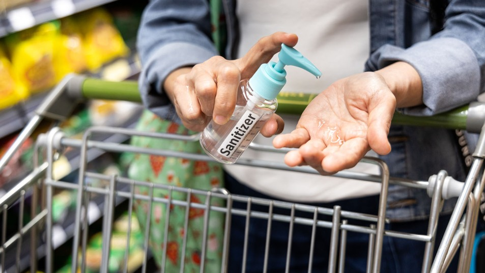 grocery store germs