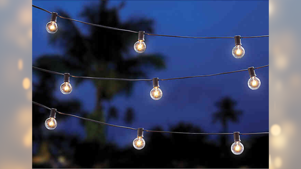 solar string lights