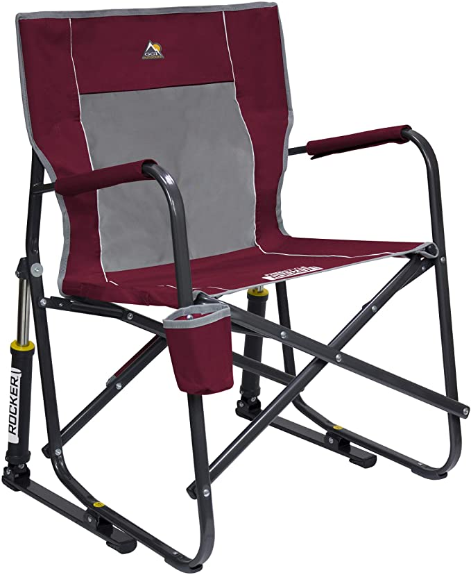 folding outdoor rocking chair
