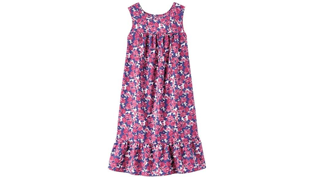 flowery house dress