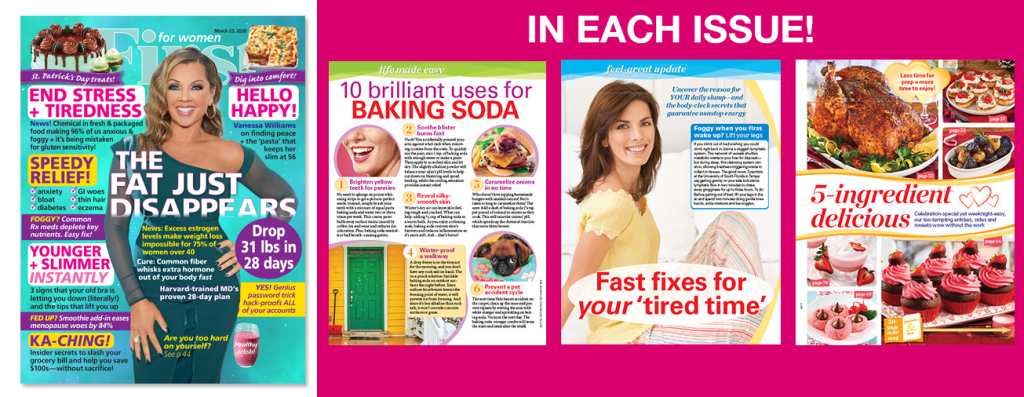 First For Women Magazine Subscription Offer