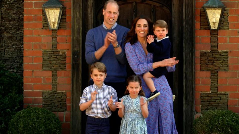 Price William, Kate, and all three kids