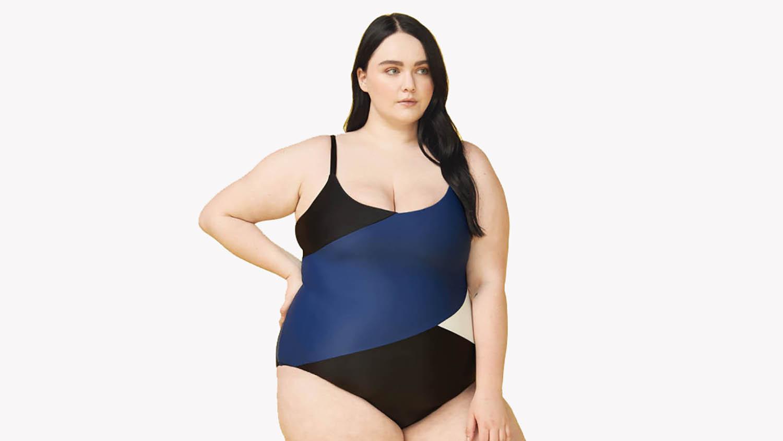 summersalt marina colorblocked swimsuit