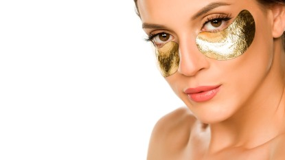 gold eye masks