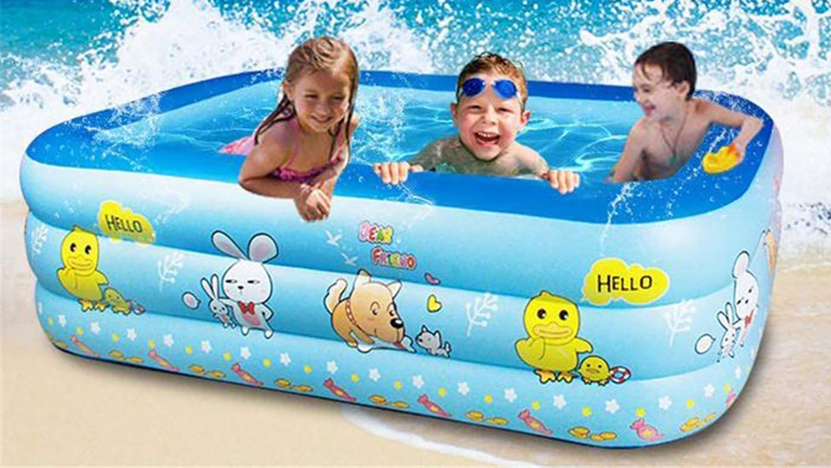 kiddie inflatable pool