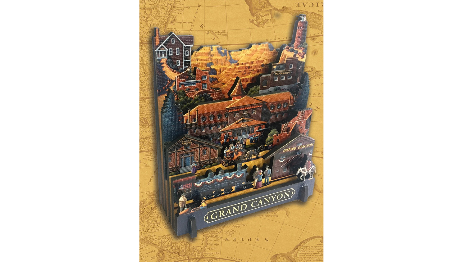grand canyon 3d puzzle