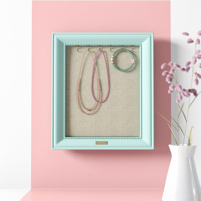Framed necklace hook