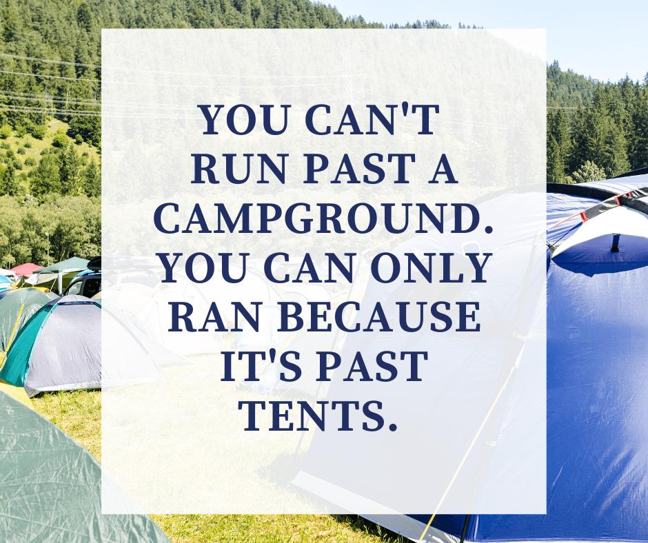 Camping joke