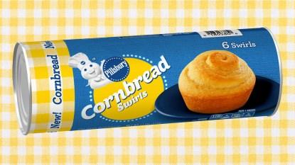 Pillsbury Cornbread Swirls can
