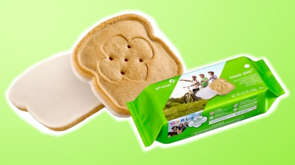 Girl Scout Cookie packaging for French Toast-Yay!