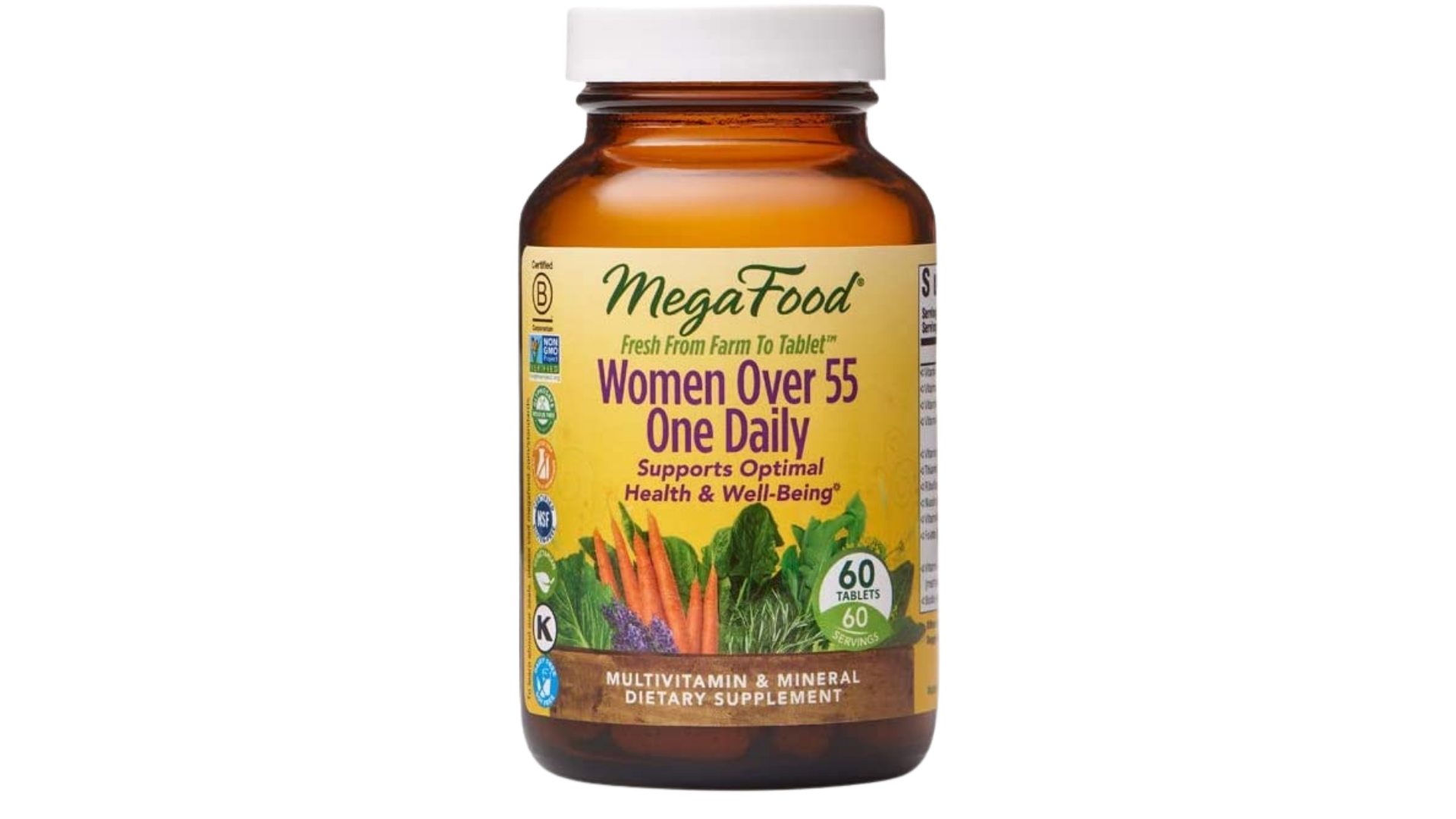 Mega Food best multivitamins 50+