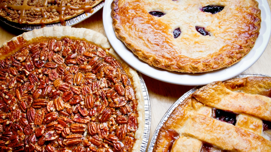 Different types of pies