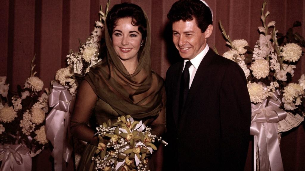 Elizabeth Taylor and Eddie Fisher's wedding