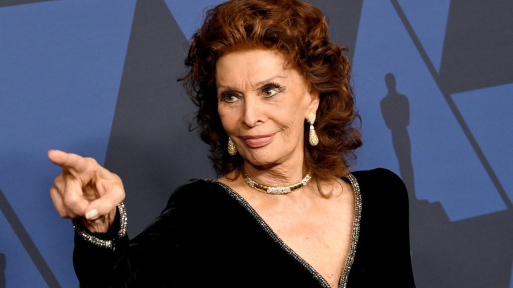 Sophia Loren in 2019
