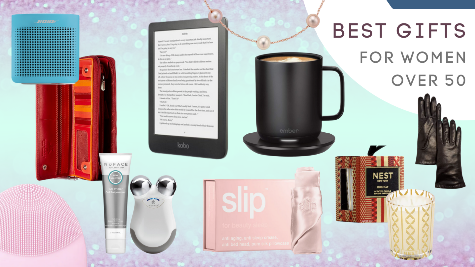 best gifts for women over 50