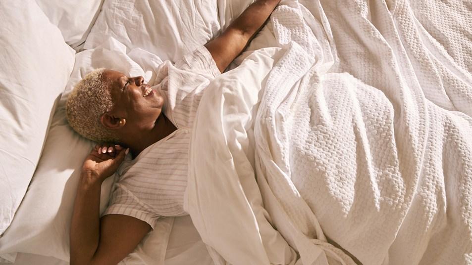 Woman Sleeping (Vitamin D) story image
