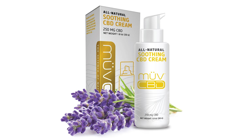 MÜV CBD soothing cream