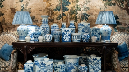 Collection of porcelain items