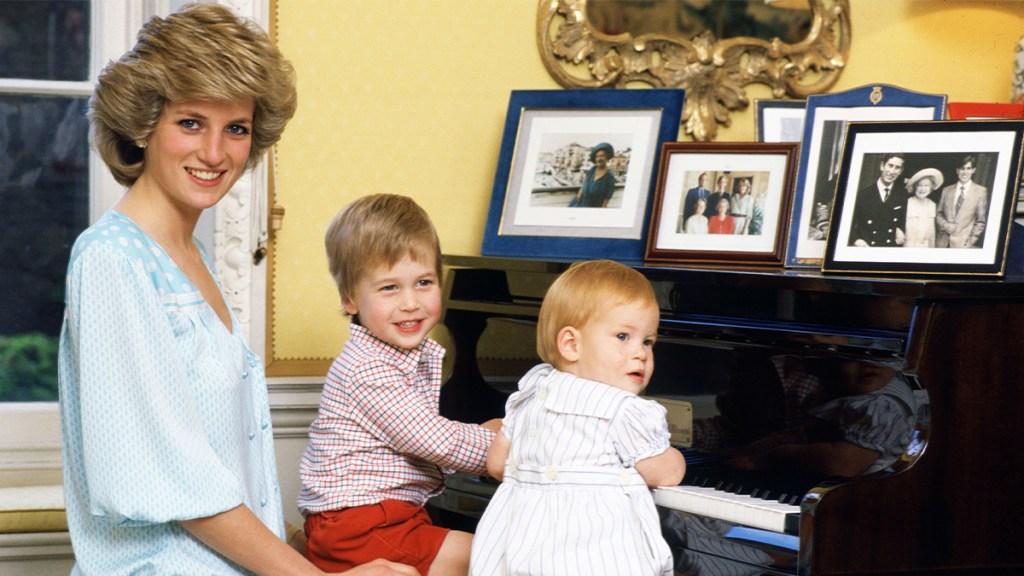 Princess Diana Teaching William and Harry