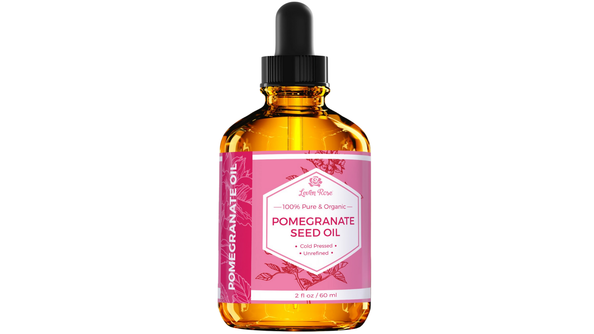 Leven Rose Pomegranate Seed Oil skin and hair
