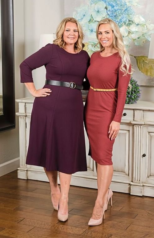 Teresa Lane and Christina Jordan