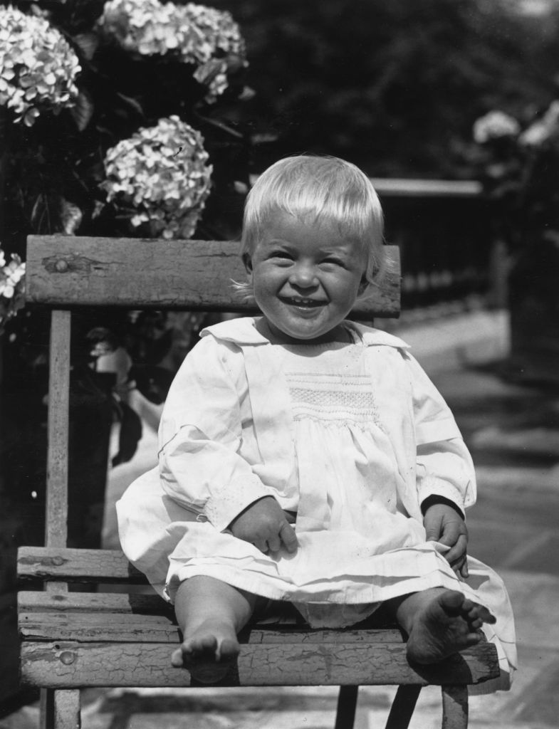 Prince Philip as a baby