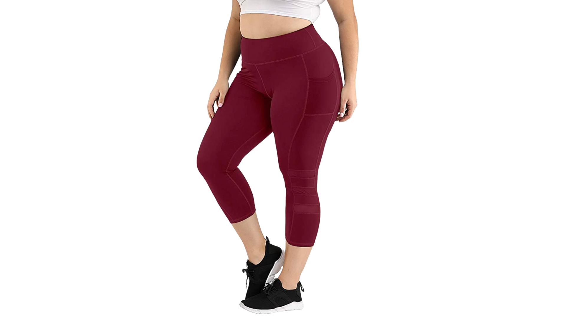 Uoohal best plus size leggings with pockets
