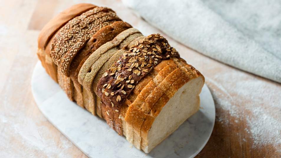 Assortment of Bread Slices