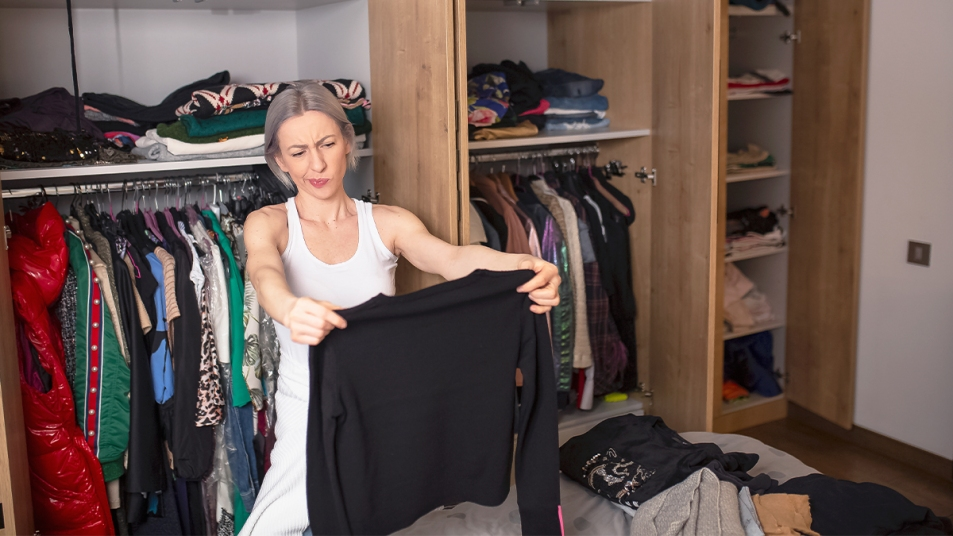 Home decluttering tips synd image