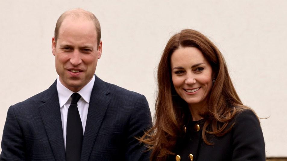 Prince William and Kate Middleton (Princess Diana tribute)