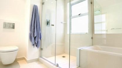 Clean shower