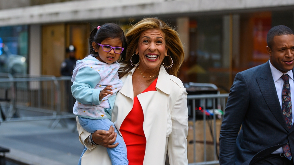 Hoda Kotb with her daughter Haley