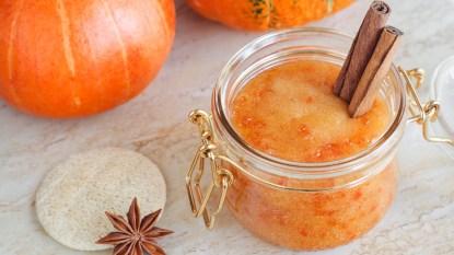 pumpkin and fall produce beauty treatments