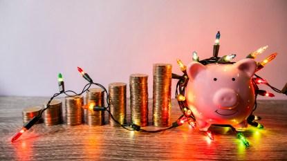 holiday deals piggy bank