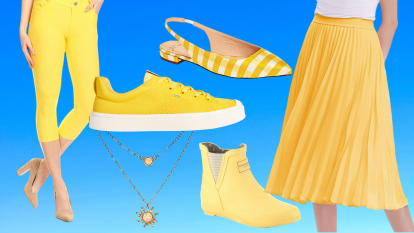 yellow shoes and fashion (1)