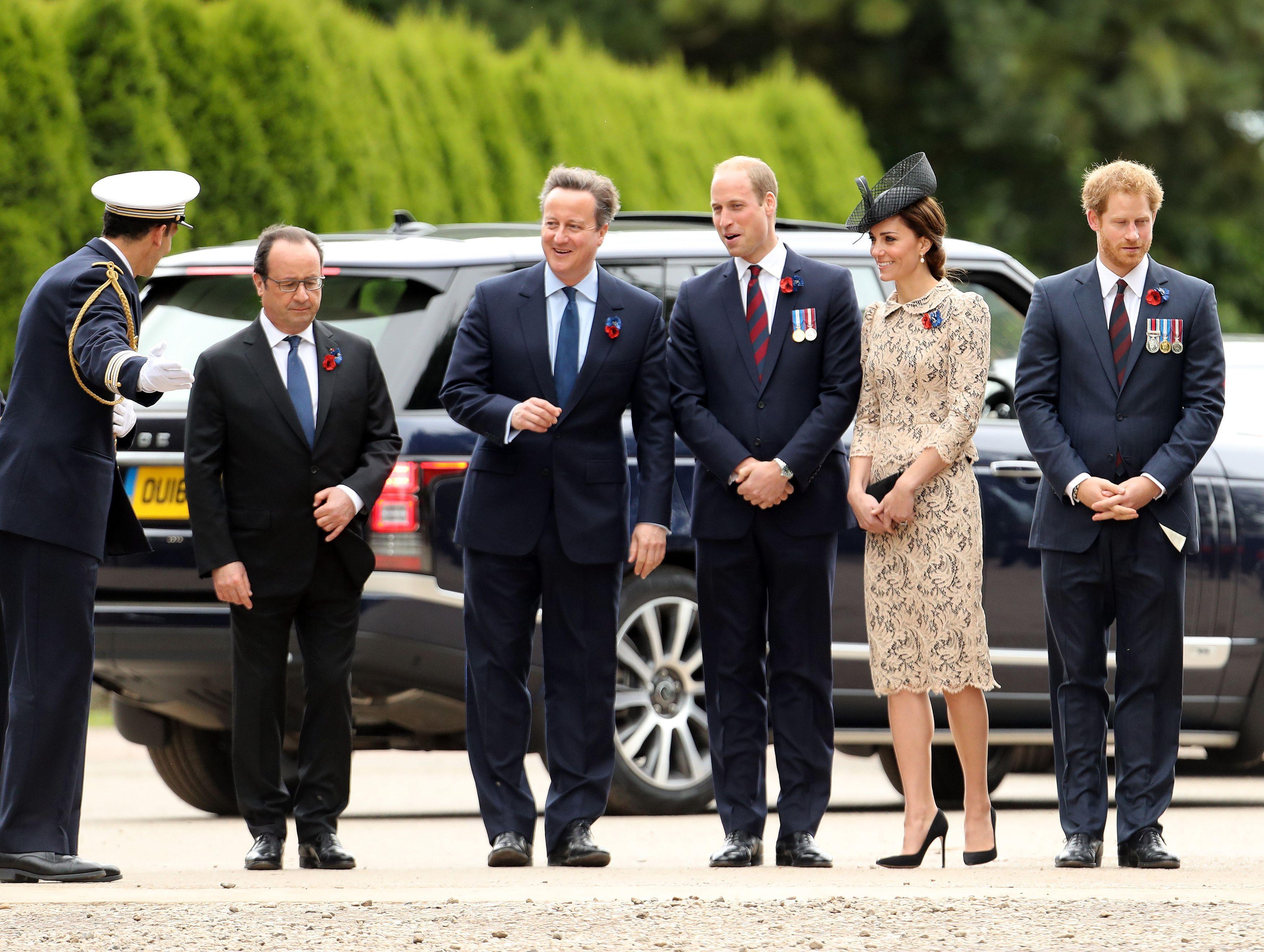 Kate Middleton Battle of the Somme Centenary