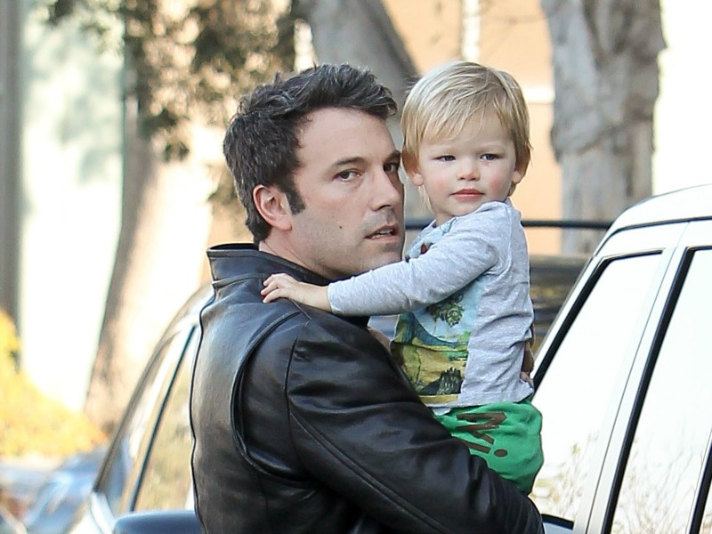 Ben and son