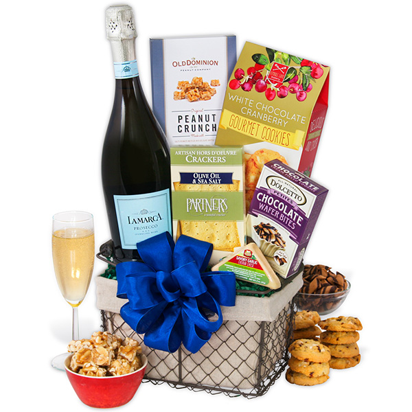 Gift Baskets Champagne Toast