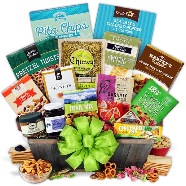 Gift Baskets Healthy Premium